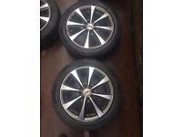 """Alloy wheel 15"""" polo lupo c2 c1 corsa"""