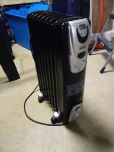 Delonghi oil filled radiator heater