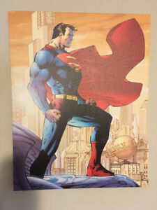 Superman For Tomorrow Jim Lee Canvas Picture Print 22X28