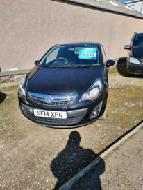 Vauxhall Corsa Sportive CDTi Van 2014 Black £4350 + VAT