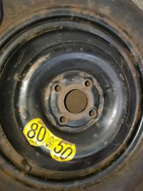 Mazda2 space saver wheel. 15inch