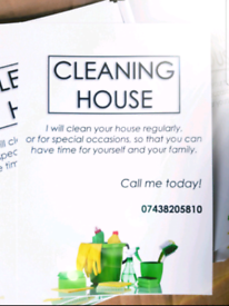 24/7 House Cleaning & lroning Service !!