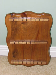 Solid Wood Collector Spoon Rack For Sale