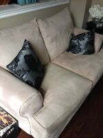 Beige couch from Leon's