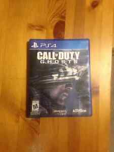 Call of Duty Ghost for PS4