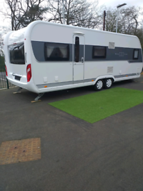 5ec8f95a4a Hobby prestige 645. 2015 22ft twin axle 5 berth
