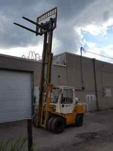 8000lb TCM forklift- tow motor  outdoor and indoor