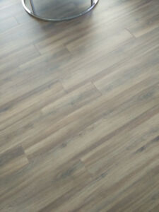 110sf of 12mm laminate flooring and soundproof underlay