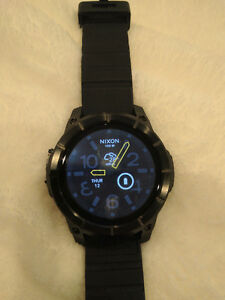 MINT - Nixon The Mission Smart Watch - All Black - Android Wear Stratford Kitchener Area image 6