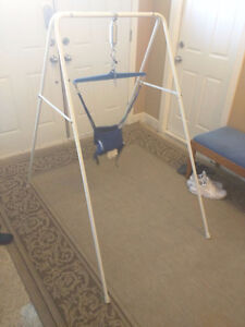 Jolly Jumper Exerciser with Portable Stand