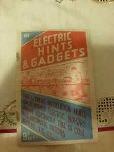 Electric Hints and Gadgets by  Arthur Lewis Golding - Vintage Kitchener / Waterloo Kitchener Area image 1
