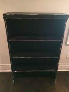 Solid Maple Bookcase - antiqued finish