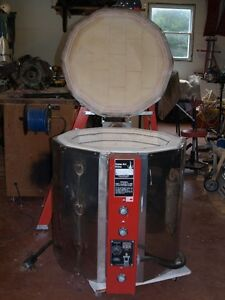 Pottery Cone Art Kiln and Vent system