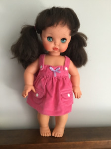 Furga vintage doll, made in Italy, 18 inch