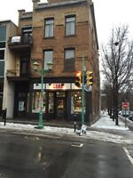 Outremont Commercial Store For Rent Laurier West