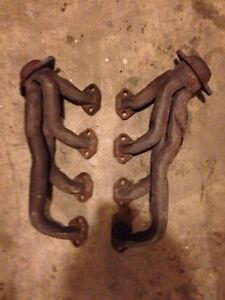 Mustang exhaust and heads