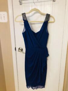 Royal Blue Semi-Formal Dress