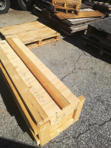 Free used pallets and crates