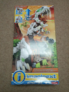 NEW Fisher Price Imaginext Ultra/Ultimate T-Rex Playset