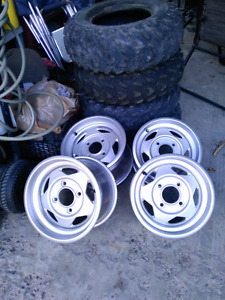 2007 yamaha grizzly rims
