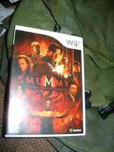 WII GAME THE MUMMY Sarnia Sarnia Area image 1