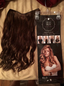 Authentic GLO Couture Halo hair extensions
