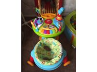 Bright starts 3in1 activity table