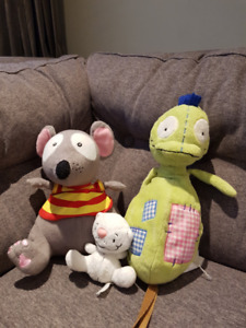Toopy, Binoo & Patchy Patch Plush Bundle (Officially Licensed)