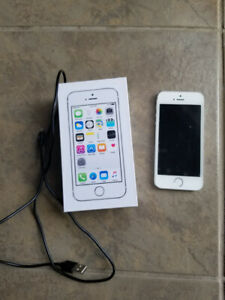 White/silver iPhone 5S, 16G