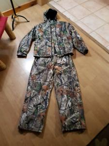 Creekside camo jacket and pants.