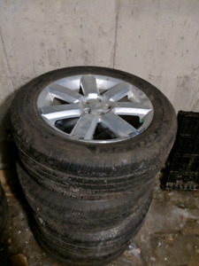 225/55R17 michelin primacy mxv4 - mags subaru outback