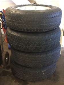 08 Jeep Wrangler Tires & Rims. 255 70 18