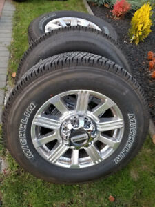 """CHEAP 2019 FORD F350 SUPERDUTY LIMITED 20"""" FACTORY WHEELS TIRES"""