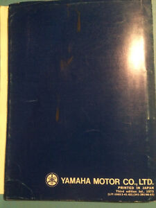 1973 1974 Yamaha TX750 Parts Book Regina Regina Area image 4