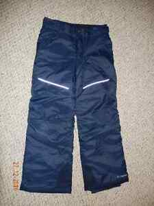 Columbia winter snow pants size L (navy)
