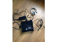Xbox 360 slim 250gb with games