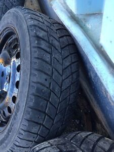 Tires and rims off 2013' civic 205/55r16 St. John's Newfoundland image 4