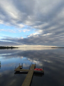 WINTER SPECIAL!!  Lake front cabin at Aquadeo