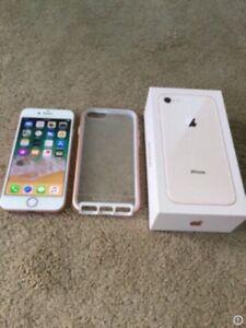 iPhone 8 64gb Unlocked,warranty March 2019