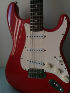 "1984 Made in Japan ( Mij ) ""E"" series Fender Stratocaster"