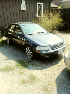 2001 Volvo S40 1.9 T looking to trade for small pickup truck.