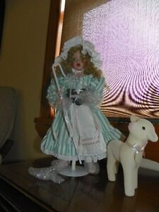 Little Bo Peep porcelain doll