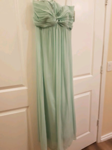 Beautiful Mint Bridesmaids dress
