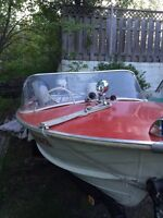 15 ft Starcraft with 60 HP outboard