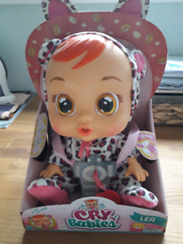 BRAND NEW! Cry Baby Lea doll