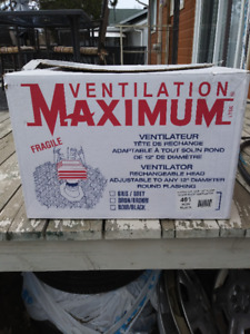 Maximum Ventilateur de toit Roof Ventilation