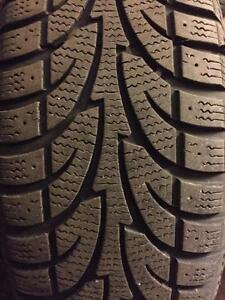4 - 2013 Ford Focus Steel Rims (5X108) with Sailun Ice Blazer Winter Tires - 205/65 R15