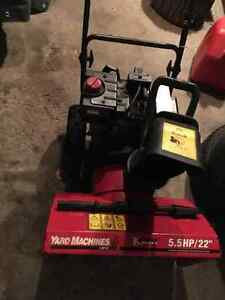 Yard Machine 5.5hp 22""