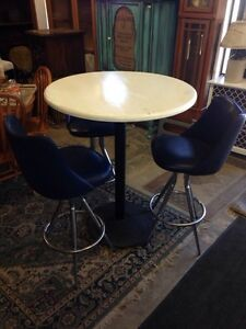 Bar Table with 3 Barstools