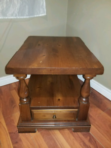 Beautiful Solid Wood End Table